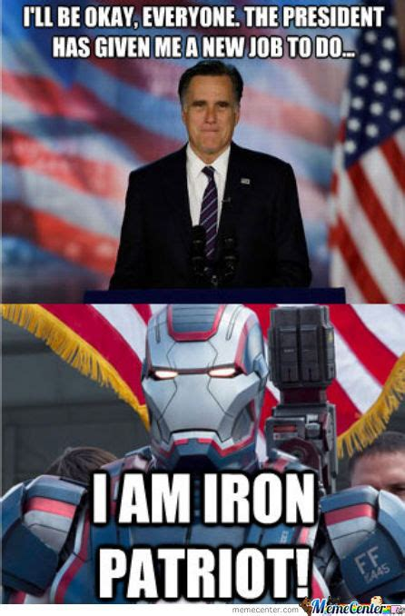 Patriot Memes - the iron patriot by bakoahmed meme center