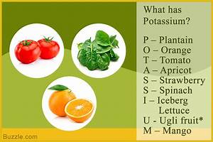 Potassium Rich Foods - List of Foods High in Potassium