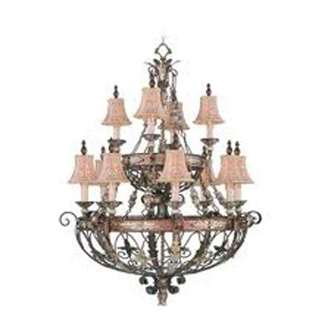 bronze chandelier with accents livex lighting 12 light palatial bronze incandescent