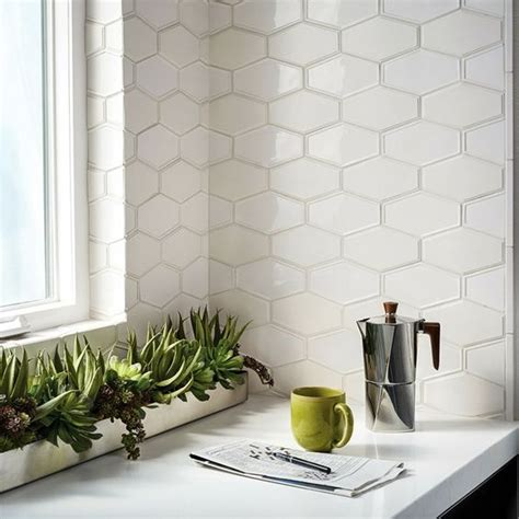 Cool Kitchen Ideas For Small Kitchens - 36 eye catchy hexagon tile ideas for kitchens digsdigs