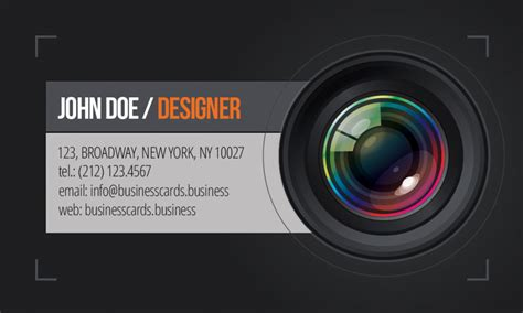 photography business card template business cards