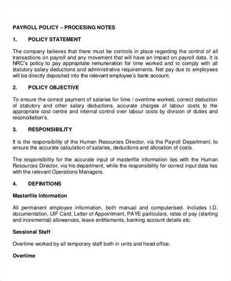 company policy template company policy template 10 free pdf documents free premium templates