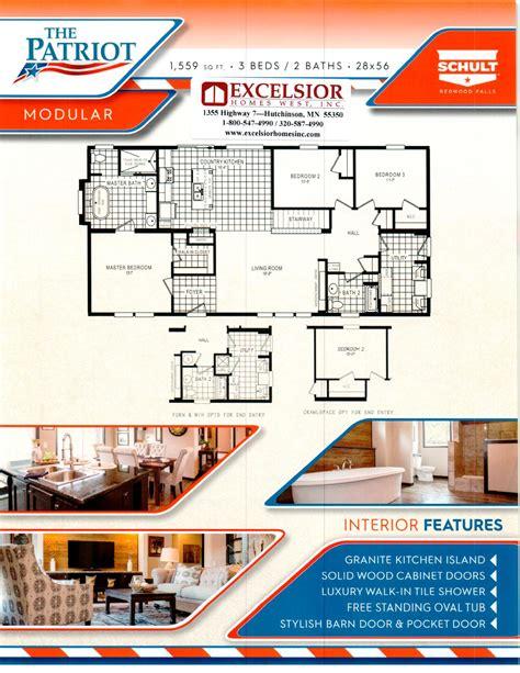 schult homes patriot washington modular excelsior homes