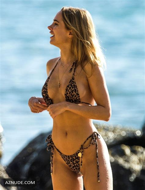 Kimberley Garner Sexy In Barbados At The Beaches St James
