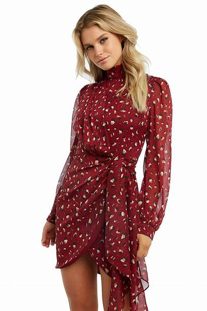 Kalia Bardot Clothing Ladies Dresses Sm Colour