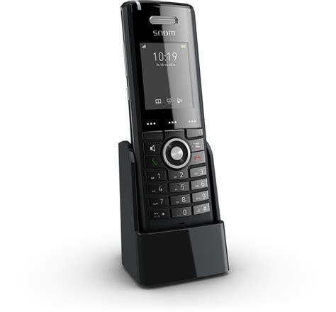 voip mobile phones snom m65 advanced dect handset provu communications