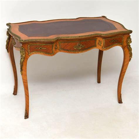 bureau olier vintage antique ormolu mounted bureau plat desk