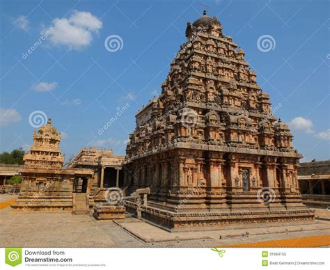 brihadeshwara temple  thanjavur stock image image