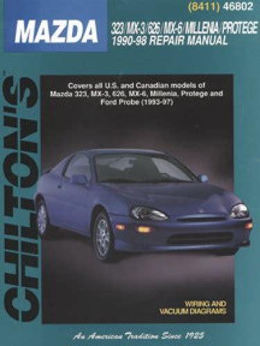 chilton car manuals free download 1994 mazda 929 on board diagnostic system chilton mazda 323 mx 3 626 mx 6 millenia protege 1990 1998 repair manual