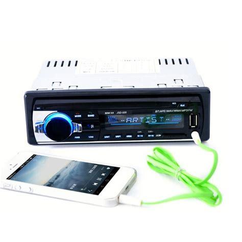 12v Bluetooth Car Stereo Fm Radio Mp3 With Usbsd Mmc Port