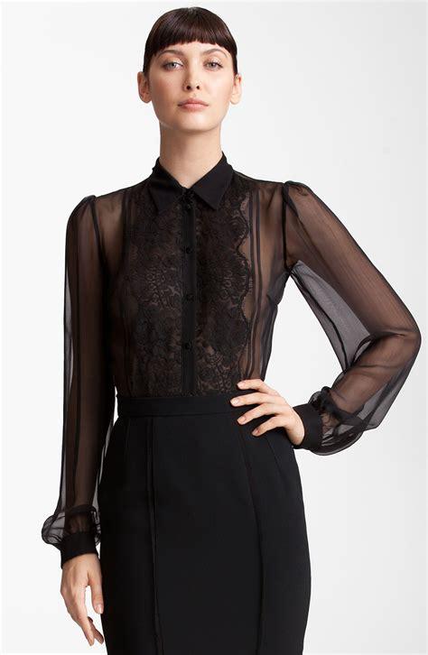 s sheer blouses sheer blouse chiffon 39 s lace blouses