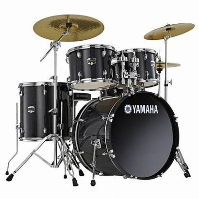 Drum Drums Yamaha Transparent Gigmaker Drumset Musical