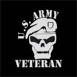 Army Veteran Car Window Decals