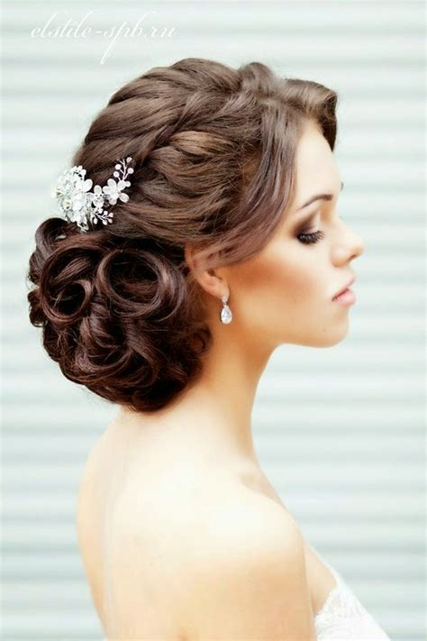 Classic Bridal Updo Hairstyles by 23 Glamorous Bridal Hairstyles With Flowers Pretty Designs