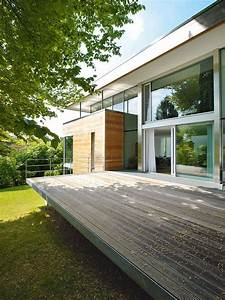 Terrasse Am Hang : kleiner grundriss am hang modernes einfamilienhaus ~ Lizthompson.info Haus und Dekorationen
