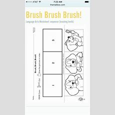 How To Brush Your Teeth Sequencing  Vpk Ideas  Preschool, Worksheets, Kindergarten Writing