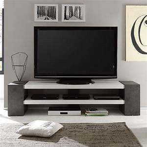 Lowboard Eiche Weiß : tv rack janes tv board lowboard in wei matt lack mit ~ Whattoseeinmadrid.com Haus und Dekorationen