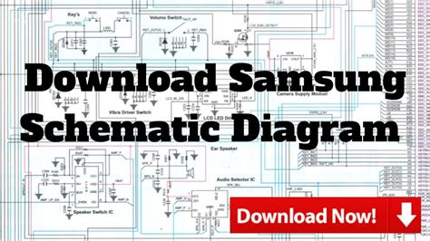 samsung schematic diagram youtube