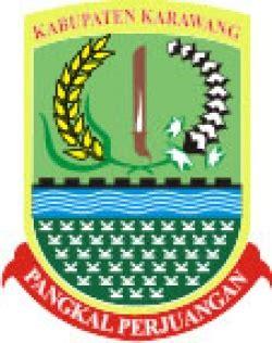 logo kabupaten karawang karawang jawa barat
