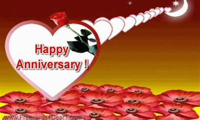 Anniversary Happy Animated Greetings Wishes Ecard Cards