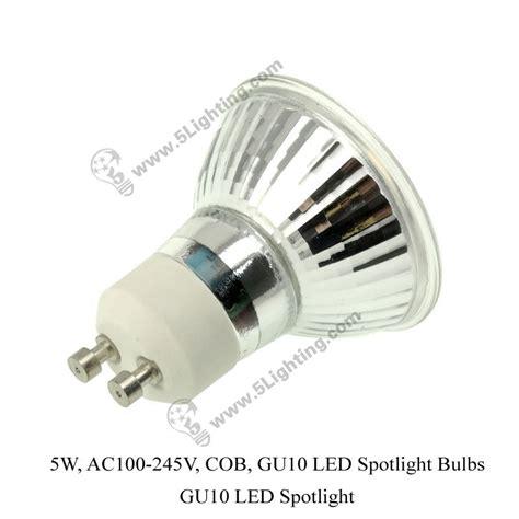 led spot light gu10 led spotlight 5w cob gu10 led spotlight bulbs