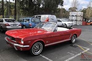 "1965 Ford Mustang Convertible 289 V8 ""C"" Code CAR Excellent Condition"