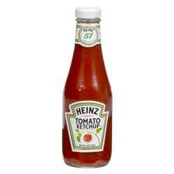 Heinz Ketchup Glass Bottles 14 Oz Bottle 24/Case-Cartnut.com
