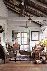 best rustic interiors ideas on pinterest cabin interior With kitchen colors with white cabinets with enclosed candle holders