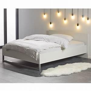 Kunstleder Bett Weiß 140x200 : bett style 140x200 cm wei d nisches bettenlager ~ Indierocktalk.com Haus und Dekorationen