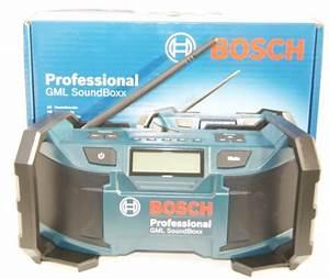 Bosch Professional Radio : outils multifonction et accessoires bosch radio de chantier sans fil gml soundboxx ~ Orissabook.com Haus und Dekorationen
