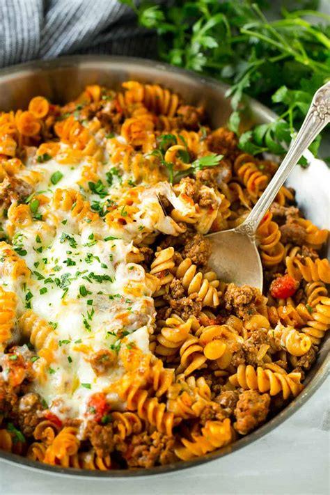 lasagna skillet healthy italian lasagna dinner recipe
