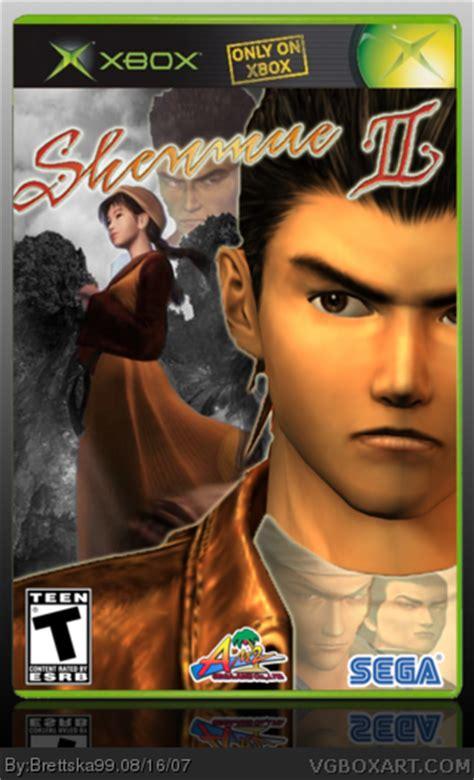 Shenmue Ii Xbox Box Art Cover By Brettska99