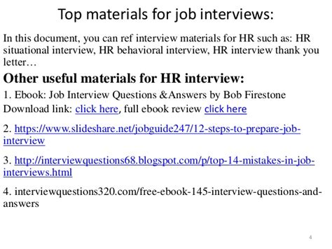 top 32 hr questions and answers pdf