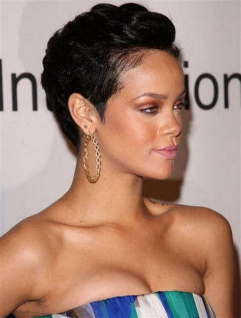 short pixie haircuts  black women