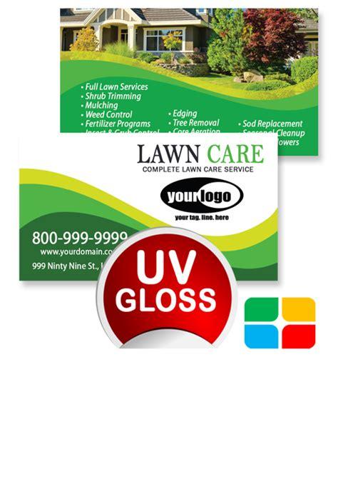 landscaping business cards la service print ads