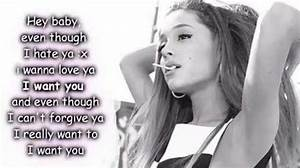 Ariana Grande quotes and lyrics on Pinterest