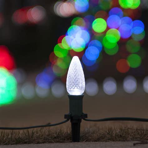 white led christmas lights c9 christmas pathway lights c9 cool white christmas led