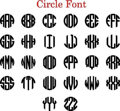 circle monogram font    monogram fonts circle monogram font circle monogram