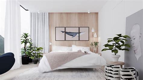 plante pour chambre à coucher 20 idées pour décorer une chambre avec des couleurs neutres