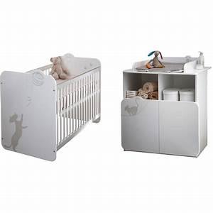 pack promo ensemble lit bebe commode a langer katy pas With déco chambre bébé pas cher avec fleuriste livraison Ï domicile