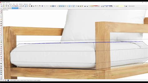 quickly create  designer chair  sketchup youtube