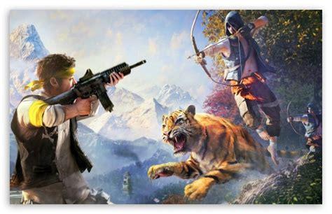 Far Cry 4 Weapons 4k Hd Desktop Wallpaper For 4k Ultra Hd