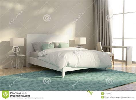 chambre a coucher luxe chambre à coucher de luxe blanche et verte illustration