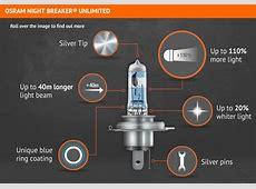 Buy GENUINE OSRAM Night Breaker Unlimited +110% Super