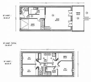 idee plan maison en longueur maison design bahbecom With plan maison en longueur