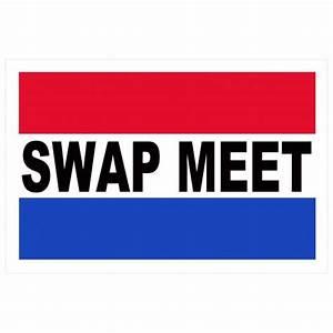 Swap Meet 2 U0026 39  X 3 U0026 39  Vinyl Business Banner  Bn0038