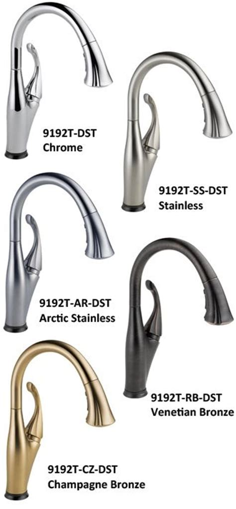 polished nickel kitchen faucets 17 best images about delta on wall