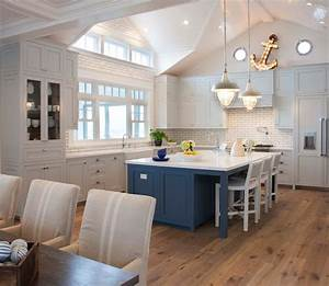 light gray kitchen cabinets cottage kitchen pratt With what kind of paint to use on kitchen cabinets for coastal living wall art
