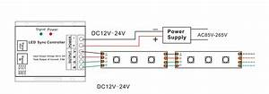 12v 24v 24a Rgb Led Controller 44 Key Remote Company