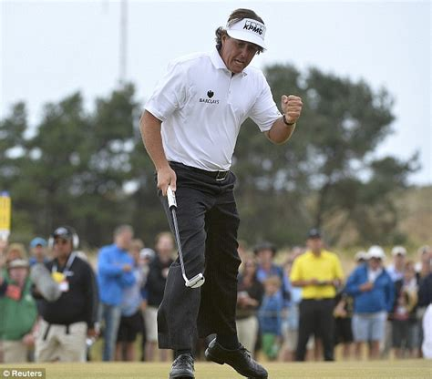 The Open 2013 LIVE: Phil Mickelson wins Muirfield battle ...